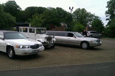 Redcar and Cleveland Limo hire for weddings