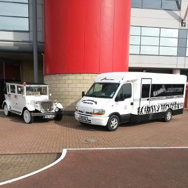 Party bus hire Middlesbrough, party bus hire north east
