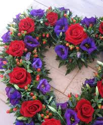 Wreaths for funerals and Christmas, Allium Florists Normanby Middlesbrough